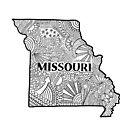 Missouri State Doodle von Corey Paige Designs