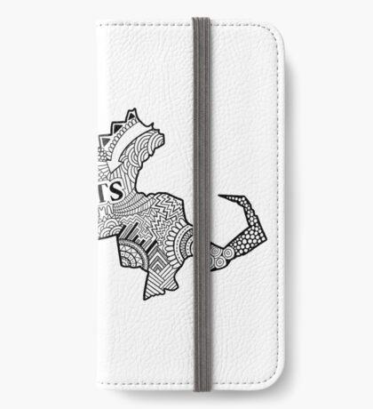 Massachusetts State Doodle iPhone Flip-Case