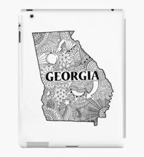 Georgia State Doodle iPad-Hülle & Klebefolie