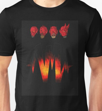 4 Headz Logo color 2 Unisex T-Shirt