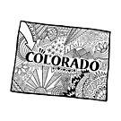 Colorado State Doodle von Corey Paige Designs