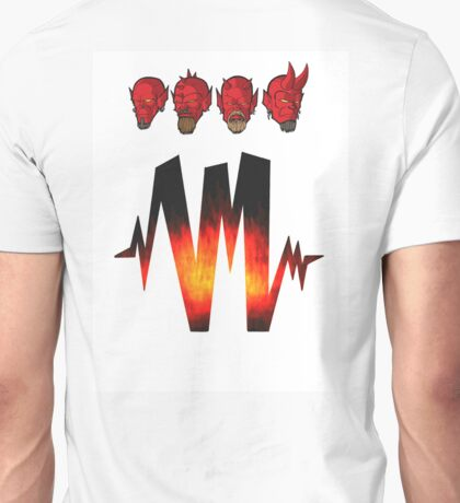 4 Headz Logo color Unisex T-Shirt