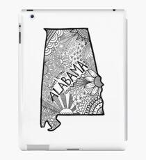 Alabama State Doodle iPad-Hülle & Klebefolie