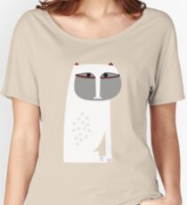 The Cat Women's Relaxed Fit T-Shirt