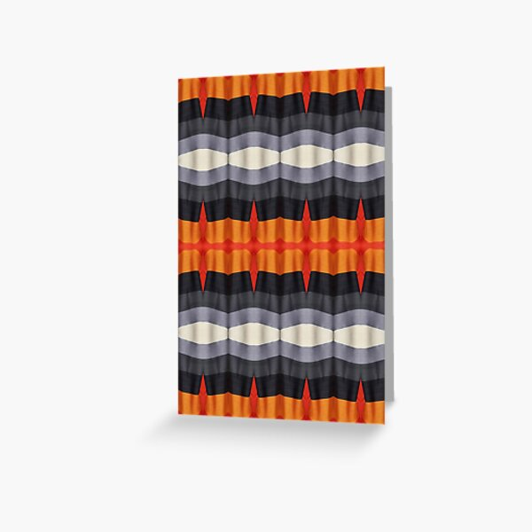 #textile, #design, #pattern, #decoration, art, abstract, illustration, curtain Greeting Card