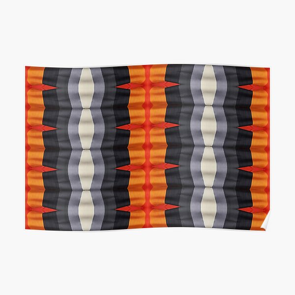 #textile, #design, #pattern, #decoration, art, abstract, illustration, curtain Poster