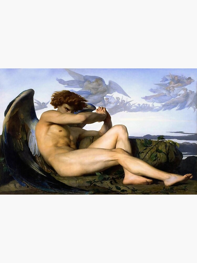 Fallen Angel Alexandre Cabanel by historicalstuff