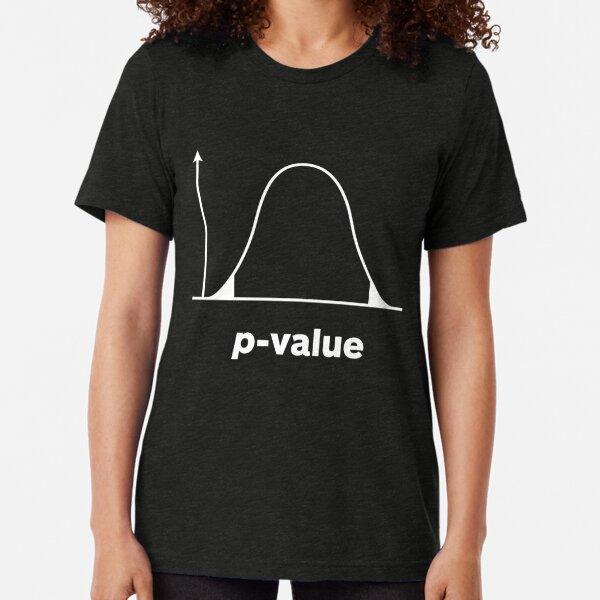 P-Value: Statistical Significance Tri-blend T-Shirt