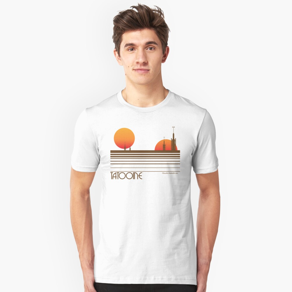 Visit Tatooine Slim Fit T-Shirt