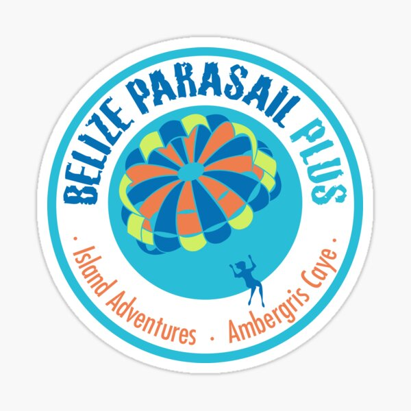 Belize Parasail Plus Sticker