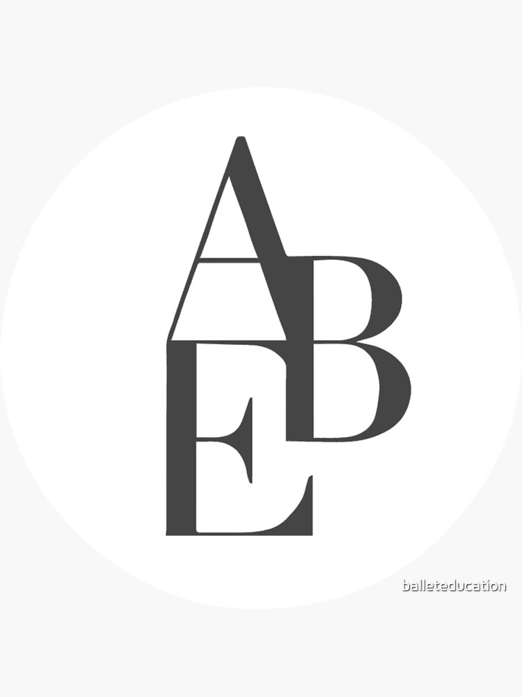 ABE STICKER LOGO by balleteducation
