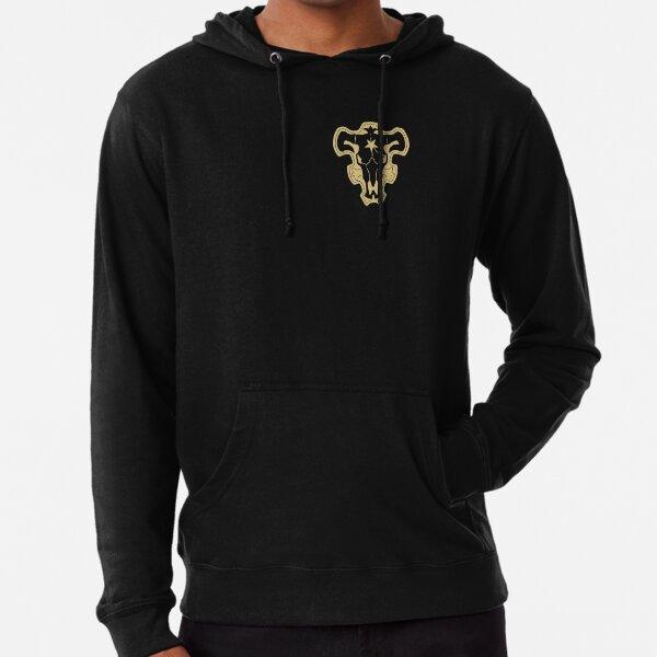 black clover black bulls Lightweight Hoodie