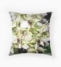 Crowded Street Throw Pillow