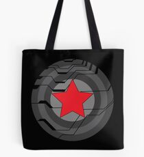 Winter Soldier Shield Tote Bag
