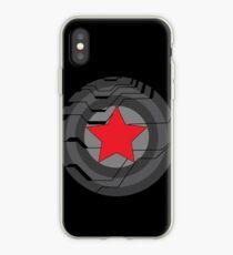 Vinilo o funda para iPhone Escudo de soldado de invierno