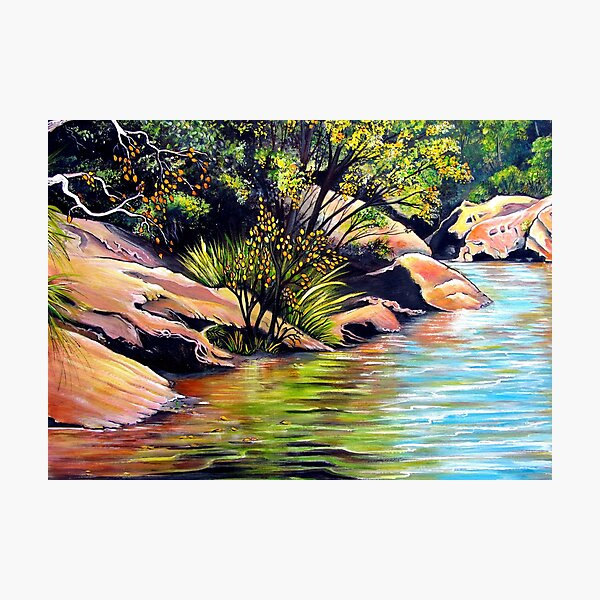 Jellybean Pool, Blue Mountains Photographic Print