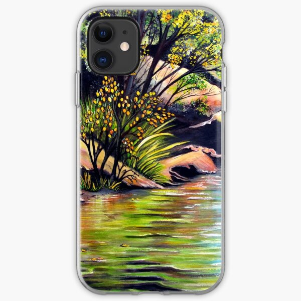 Jellybean Pool, Blue Mountains iPhone Soft Case