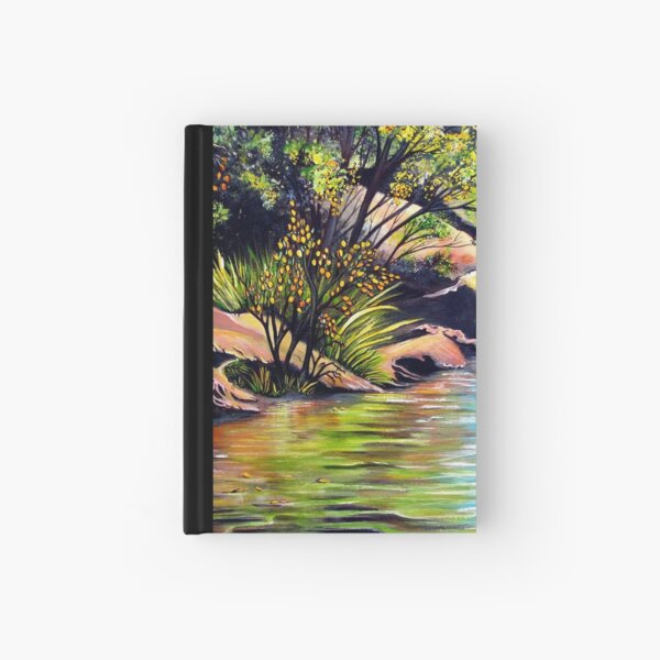 Jellybean Pool, Blue Mountains Hardcover Journal