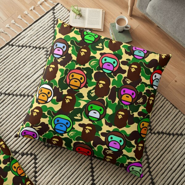 Bape Army Collage Floor Pillow