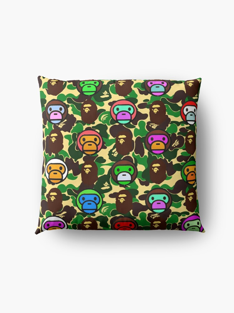 Alternate view of Bape Army Collage Floor Pillow