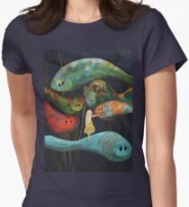My Fascinating Friends Womens Fitted T-Shirt