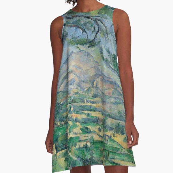 Paul Cézanne - Post Impressionist - Aix-en-Provence A-Line Dress