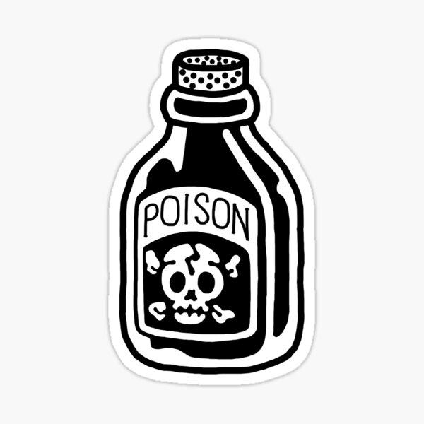 poison sticker Sticker