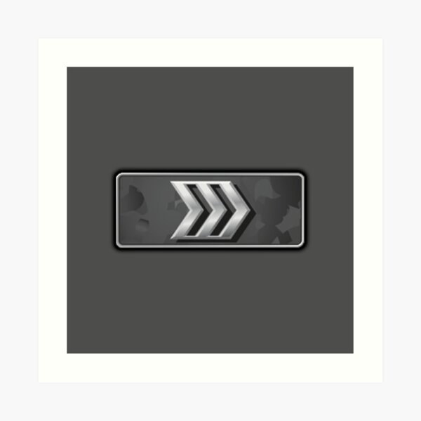 [CSGO] Silver 3 Art Print