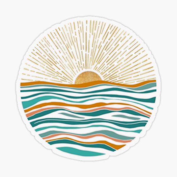 Hello Sunshine Transparent Sticker