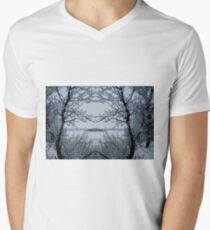 Winters Magic Men's V-Neck T-Shirt