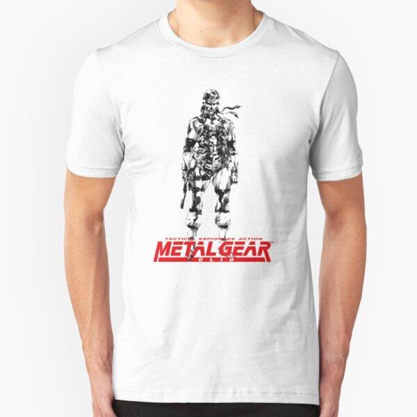 METAL GEAR Slim Fit T-Shirt
