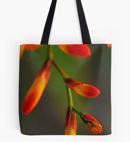 Natures Red Yellow and Green Tote Bag