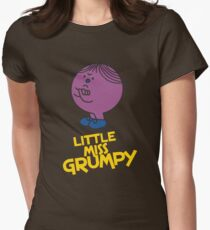 Little Miss Grumpy Womens Fitted T-Shirt