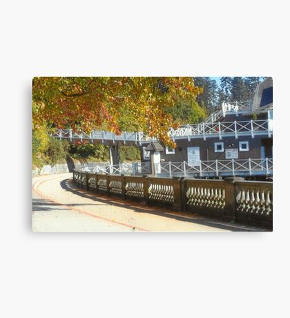 Stanley Park Sea Wall Canvas Print