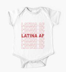 Body de manga corta para bebé Chica latina AF de bajo costo, Orgullo latino, orgullosa ropa mexicana