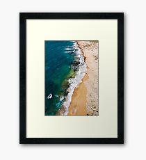 Sandy Beach Framed Print