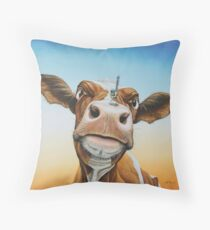 Fearless! Throw Pillow
