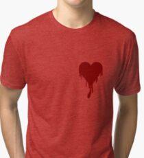Bleeding Heart Tri-blend T-Shirt