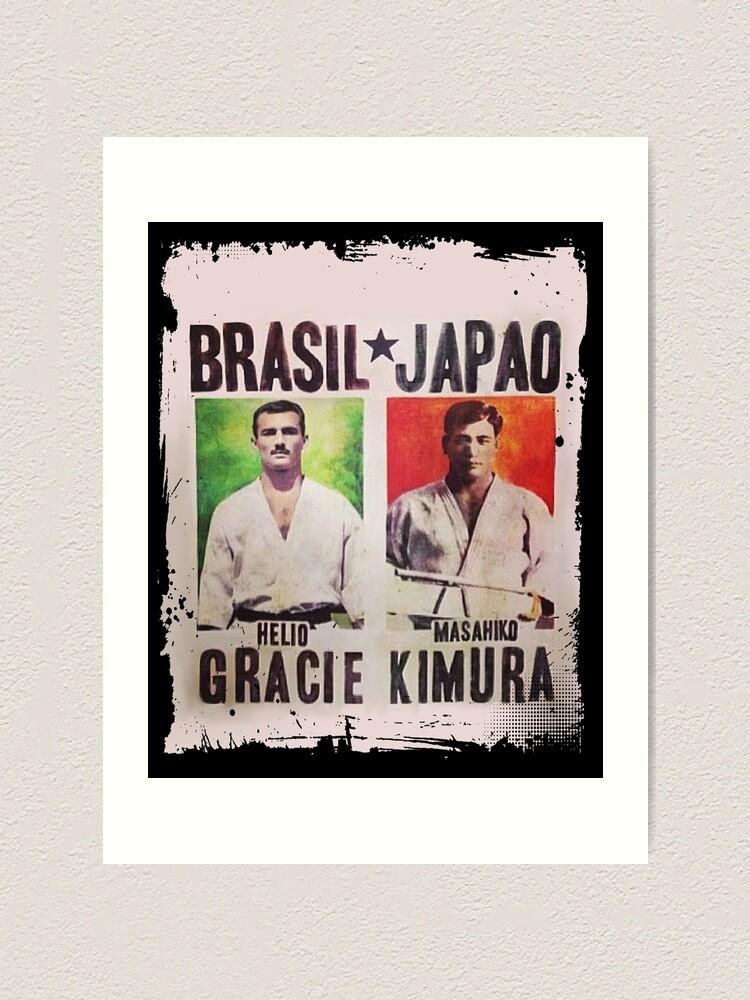Alternate view of Grand Master Gracie vs Masahiko Kimura Fight Poster Art Print