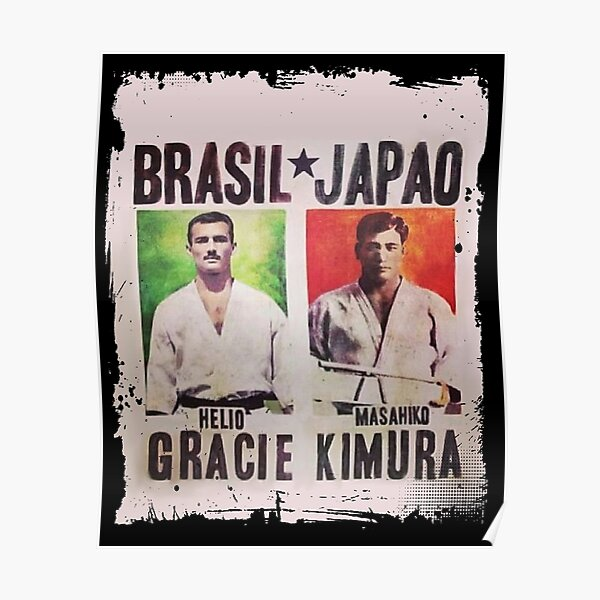 Grand Master Gracie vs Masahiko Kimura Fight Poster Poster