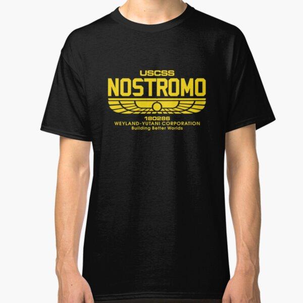 USCSS Nostromo Weyland Yutani Corporation Classic T-Shirt