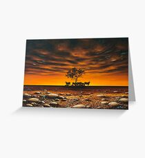 Another Day in Paradise Greeting Card
