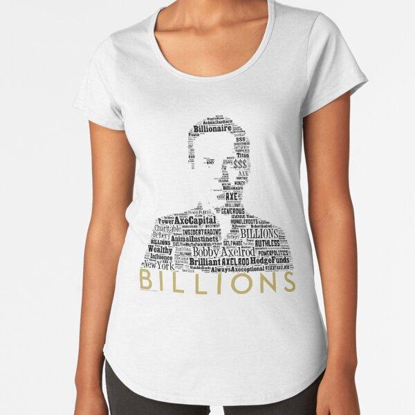 BILLIONS - Bobby Axe Axelrod 1 Premium Scoop T-Shirt