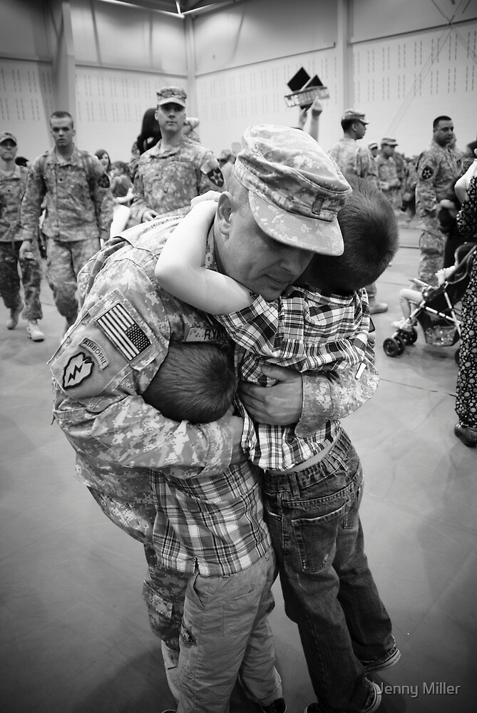Welcome Home, Daddy!!! by Jenny Miller