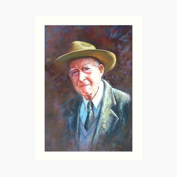 'Portrait of Tom Tehan' Art Print