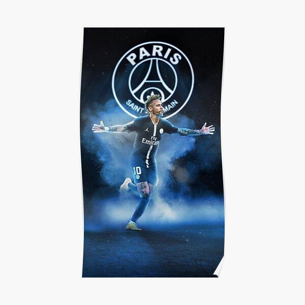Papier peint Art Neymar Poster