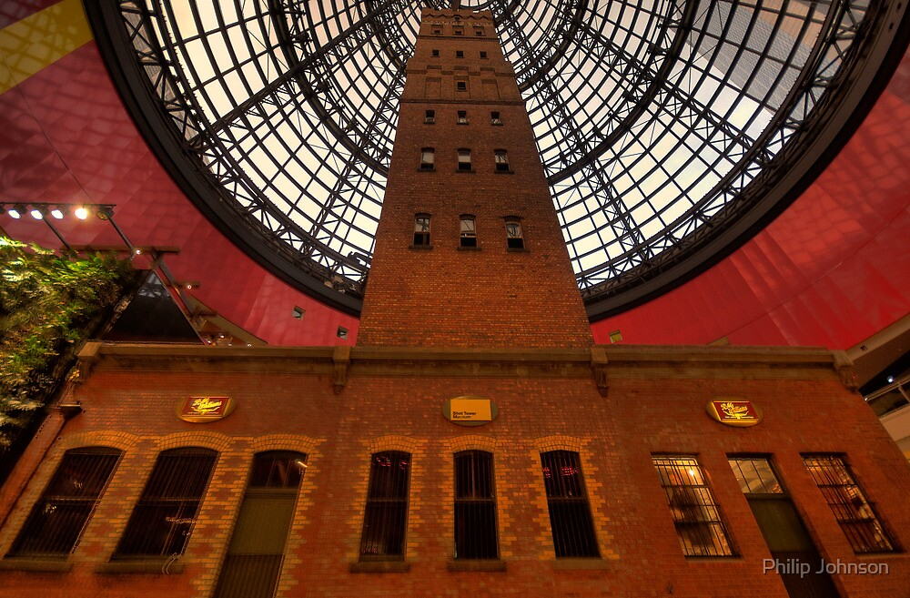 Coops Shot Tower - Angle #6 (colour), Melbourne - The HDR Experience by Philip Johnson