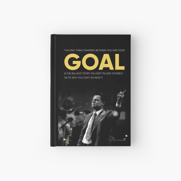 The Wolf of Wall Street Hardcover Journal