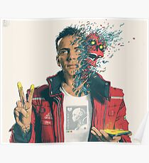 Logic Album cover Confessions Dangerous Mind Poster