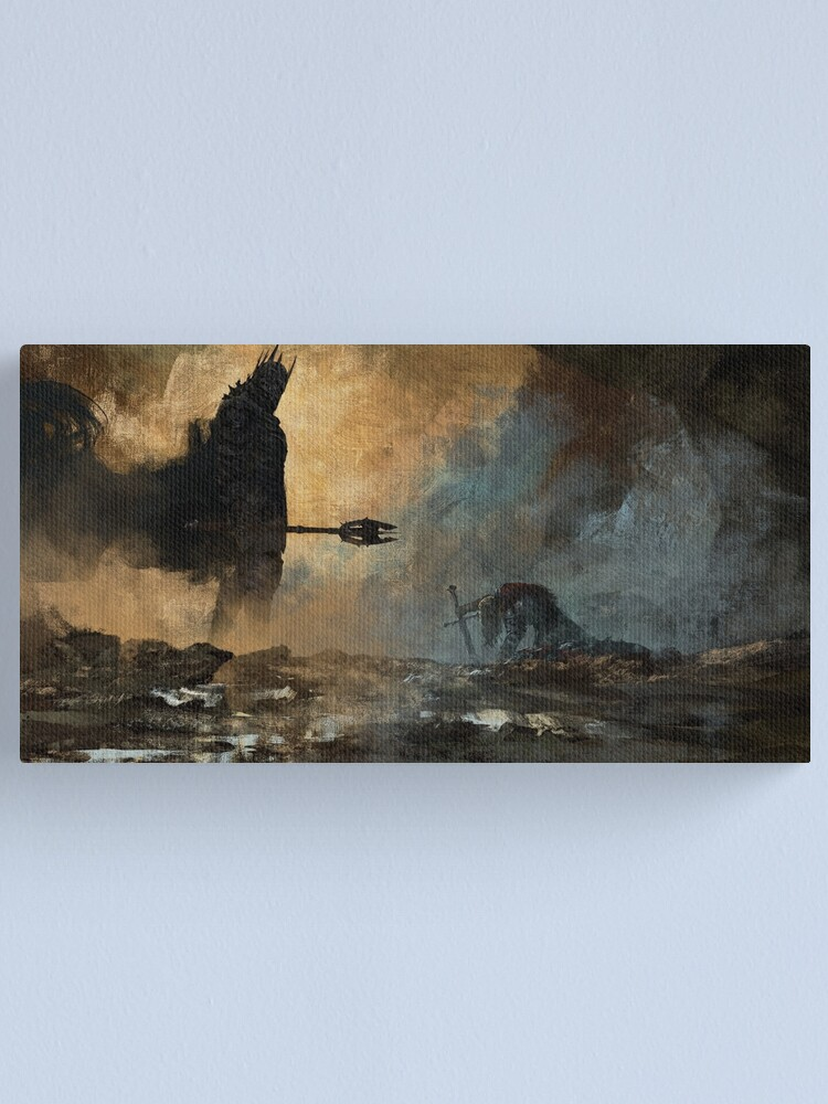 Alternate view of The fate Canvas Print